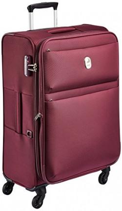 Delsey Joras Polyester 68 cms Purple Soft Sided Suitcase (00344081108E9)