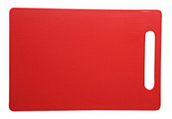 All Time Plastics Chopping Board, 30.6cm, Red