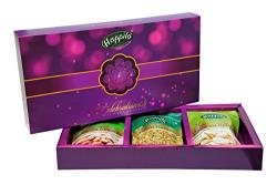 Happilo PP303 Premium Dry Fruits Gift Box, 650g