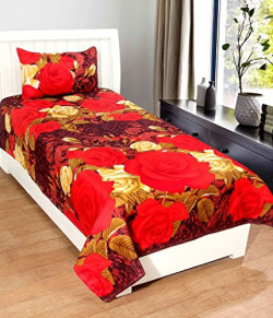Single Bedsheet Starts from Rs. 177