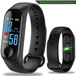 Zoyo Intelligence Bluetooth Health Wrist Smart Band Watch Monitor/Smart Bracelet/Health Bracelet/Smart Watch for Mens/Activity Tracke/Bracelet Watch for Men/Smart Fitness Band Watch
