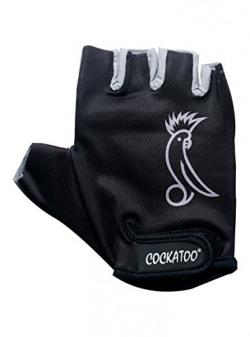 Cockatoo Power Mesh Weight Lifting Gym Gloves, Senior Medium (Grey)