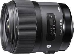 Sigma 35mm F/1.4 DG HSM Art Lens for Canon DSLR Cameras