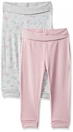 Mothercare Baby Girls' Pyjama Bottom (Pack of 2) (QD677-1_Multicoloured_6-9 M)