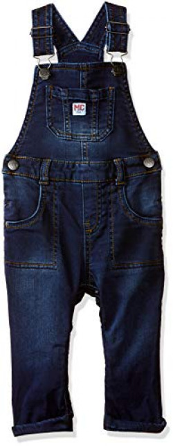Mothercare Baby Boys' Dungaree (QC602-1_Blue_3-6 M)