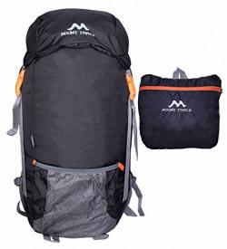 MOUNT TRACK Nylon 9303 Foldable Waterproof 30L Black Rucksack