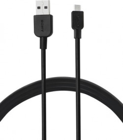 Sony CP-AB100/BCEWW USB-A to Micro USB 1m Micro USB Cable(All Phones With Micro USB Port, Black, Sync and Charge Cable)