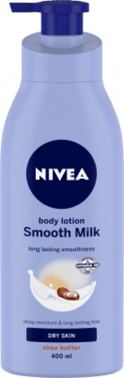 Nivea Smooth Milk with Shea Butter Body Lotion(400 ml)