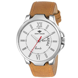 Eddy Hager Brown Day and Date Men's Watch EH-106-BR