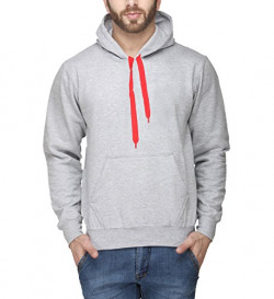 Scott Men's Grey Premium Rich Cotton Hooded Sweatshirt - NEW-ssl5-L