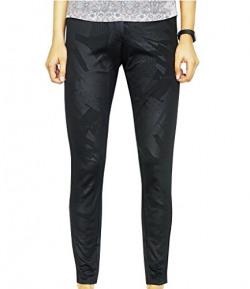Redesign Women Stylish Jegging Pants (Designer Black)