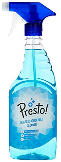 Amazon Brand - Presto! Glass and Household Cleaner - 500 ml