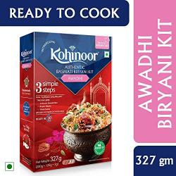 Kohinoor Authentic Basmati Biryani Kit, Awadhi, 327g