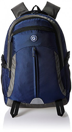 Giordano 42 Ltrs Blue Laptop Backpack (GD6807PC-LTBK)