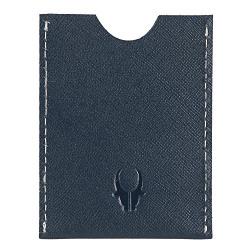 WildHorn Hand Crafted Blue Genuine Leather Credit Card Holder