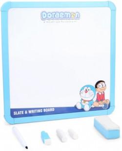 Doraemon 2 In 1 Slate & Writing Board(Multicolor)