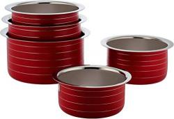 Classic Essentials Stainless Steel Patila Set, 5-Piece