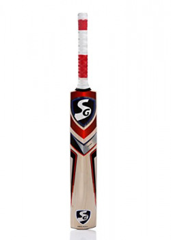 SG RSD Select English Willow Cricket Bat, Short Handle (Color May Vary)