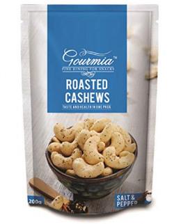 Gourmia Roasted Cashews, Salt and Pepper, 200g