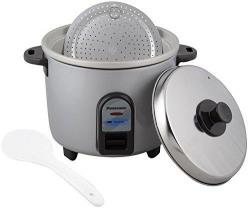 Panasonic SR-WA10 2.7-Litre Automatic Electric Rice Cooker (Burgundy)