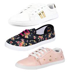 Earton Premium Quality Stylish & Designer Loafer & Moccasins Shoes for Women Size: 6 (Colour: Multicolor) _ 202