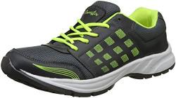 Lannistir Men's Grey-Lime Running Shoes-@299