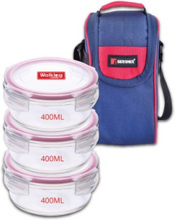 Bergner BGIN-5775 3 Containers Lunch Box(400 ml)