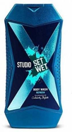 Set Wet Studio X Body Wash For Men - Refresh(180 ml)