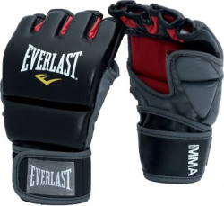 Everlast Grappling Training Gloves-LXL Boxing Gloves(Black, Red)