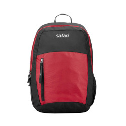 Safari 26 Ltrs Red Casual/School/College Backpack (CHAMP19CBRED