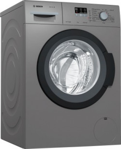 Bosch 7 kg Fully Automatic Front Load with In-built Heater Grey(WAK2006TIN)