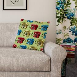 Flipkart SmartBuy 3D Printed Cushions Cover(40 cm*40 cm, Multicolor)