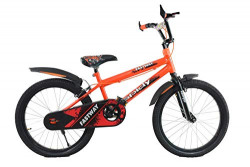 ORBIS CYCLES Spidy 20 Inches Single Speed Bike for Kids of Age 5-8 Yrs Orange