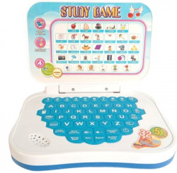 Miss & Chief Mini Laptop with Learning Games(Blue)