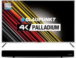 Blaupunkt 127cm (50 inch) Ultra HD (4K) LED Smart TV  with Metallic Bezel and External Soundbar(BLA50AU680)
