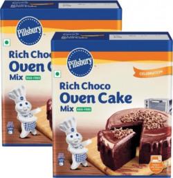 Pillsbury Rich Choco Oven Cake Mix 540 g(Pack of 2)