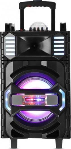 Altec Lansing AL-5001 with DJ Light & Karaoke 50 W Bluetooth Party Speaker(Black, Grey, Gold, Stereo Channel)