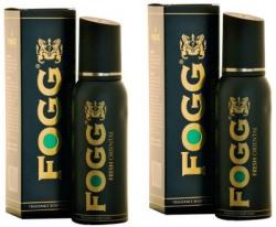 Fogg Fresh Oriental Black Series Fragrance Body Spray Pack of 2 Combo (150ML each) Perfume Body Spray  -  For Men & Women(300 ml, Pack of 2)