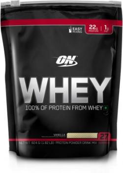 Optimum Nutrition 100%Powder Whey Protein(824 g, Vanilla)