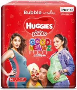 Huggies Wonder pants good newwz pack- Medium - M(152 Pieces)