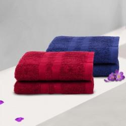 Flipkart SmartBuy Cotton 340 GSM Hand Towel Set(Flipkart SmartBuy 340 GSM Cotton Hand Towel)