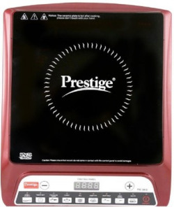Prestige PIC 20.0 MAROON Induction Cooktop(Maroon, Black, Push Button)