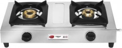 Pigeon Compact Stainless Steel Manual Gas Stove (2 Burners) Rs.1099 @ Flipkart