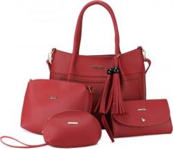 CARA MIA Women Red Hand-held Bag