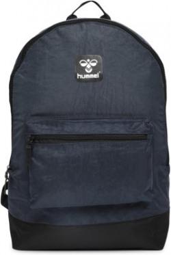 hummel Unisex HML M Laptop Backpack 23 L Backpack(Blue)