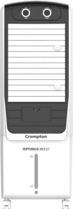 Crompton 27 L Tower Air Cooler(White, Black, ACGC- Optimus Neo 27)