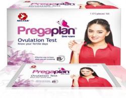 Neclife Pregaplan Ovulation Fertility Test (10) & Getnews Pregnancy Test Kit (10) & Dr Trust Digital thermometer (1) Ovulation Kit(10 Tests)