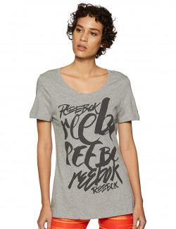 upto 91% off on Reebok women's Tshirts starts @239