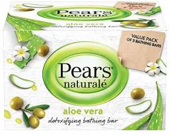 Pears naturale aloe vera detoxifying soap 125gm