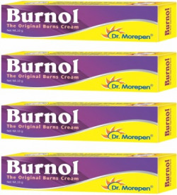 Dr. Morepen Burnol- Burns Pain Relief Cream Antiseptic Medicine Kit Pack of 4(10 g)